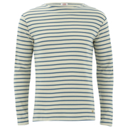 Armor Lux Men's Marinere Long Sleeve T-Shirt - Zand/Beetle