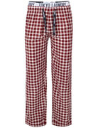 Tokyo Laundry Men's Saratoga Check Lounge Pants - Oxblood