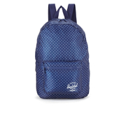 Herschel Packable Day Packs Backpack - Light Blue Polka Dot