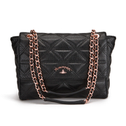 Vivienne Westwood Anglomania Sharlenemania Women's Shoulder Bag - Black
