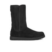 UGG Women's Michelle Slim Short Sheepskin Boots - Black