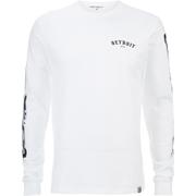 Carhartt X Moodymann Men's Long Sleeve MMC Detroit Soul Skate T-Shirt - White