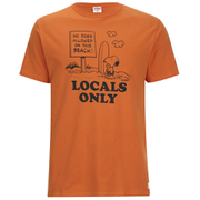 TSPTR Men's Locals Only T-Shirt - Orange
