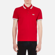 BOSS Green Men's Paddy Polo Shirt - Medium Red