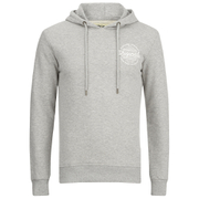 Jack & Jones Men's Originals Smooth Hoody - Light Grey Melange