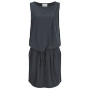 Gestuz Women's Clary Mini Dress with Tie Waist - Anthracite