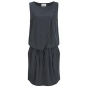 Gestuz Women's Clary Mini Dress with Tie Waist - Anthracite