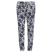 MICHAEL MICHAEL KORS Women's Zip Pocket Printed Trouser - New Navy