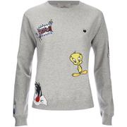 Paul & Joe Sister Women's Sofunny Sweatshirt- Grey Melange