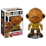 Star Wars The Force Awakens Admiral Ackbar Pop! Vinyl Bobble Head Figure