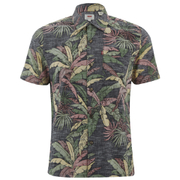 Levi's Men's Hawaiian Shirt - Dark Phantom