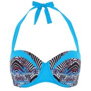 Paolita Women's Rhapsody Gershwin Bikini Top - Blue