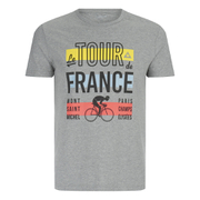 Le Coq Sportif Tour de France N4 T-Shirt - Grey