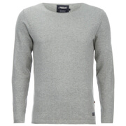 Produkt Men's Crew Neck Jumper - Light Grey Melange