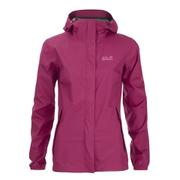 Jack Wolfskin Women's Cloudburst Jacket - Azalea Red