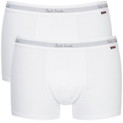 Paul Smith Accessories Men's 2 Pack Boxer Shorts - White