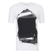 Helmut Lang Men's Transparency Print T-Shirt - White