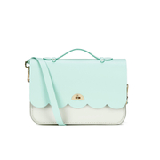 The Cambridge Satchel Company Women's Cloud Bag with Handle - Two Tone Sweet Pea Blue/Clay