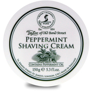 Taylor of Old Bond Street Shaving Cream Bowl - Peppermint (150g)