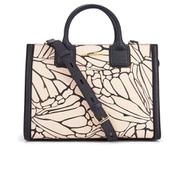 Karl Lagerfeld Women's K/Klassik Butterfly Print Tote Bag - Black/Pink