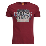 BOSS Orange Men's Terko 1 Logo T-Shirt - Red