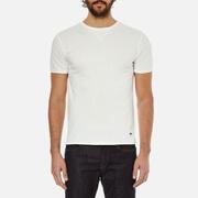 BOSS Orange Men's Toern Collar Detail T-Shirt - White
