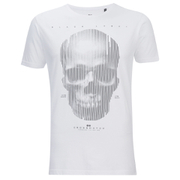 Crosshatch Men's Cerebrum T-Shirt - White