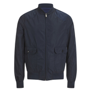 Scotch & Soda Men's Reversible Bomber Jacket - Night