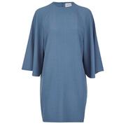 Ganni Women's Clark Dress - Moonlight Blue