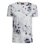 HUGO Men's Durn Printed Crew Neck T-Shirt - White