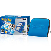 Nintendo 2DS Special Edition: Pokémon Blue Version + Blue Case
