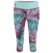 Primal Palm Women's Capri - Purple