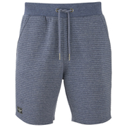 Threadbare Men's Leyton Quilted Sweat Shorts - Navy
