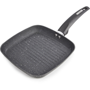 Tower T80336 Grill Pan with Ceramic Coating - Graphite - 25cm