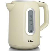 Akai A10001C Jug Kettle - Cream - 1.7L
