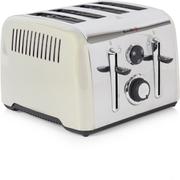 Breville VTT716 Aurora 4 Slice Toaster - Stainless Steel