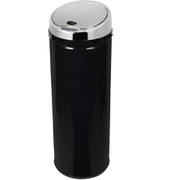 Morphy Richards 971522/MO Round Sensor Bin - Black - 50L