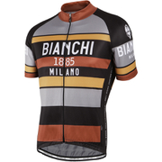 Bianchi Men's Telgate Short Sleeve Jersey - Black/Multi