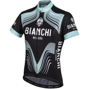 Bianchi Tuela Women's Short Sleeve Jersey - Black/Green