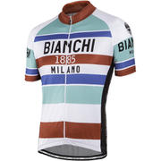 Bianchi Men's Telgate Short Sleeve Jersey - White/Multi