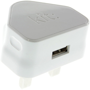 Kit USB 2.1A Eco Mains Charger - White