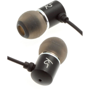 KitSound Ace Earphones With In-Line Mic - Black