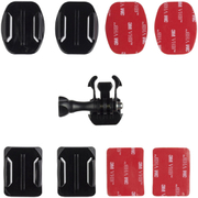 Kitvision Adhesive Mount for Action Cameras (GoPro, Kitvision: Edge H10, Splash, Esc 5 & Esc 5W) - Black