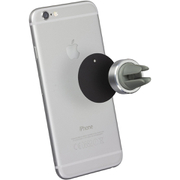 Tec+ Magnetic In-Car Vent Smartphone Holder - Silver