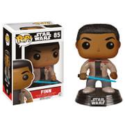 Star Wars The Force Awakens Finn with Lightsaber Pop! Vinyl Bobble Head