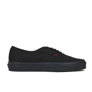 Vans Men's Authentic Twill/Gingham Trainers - Black/Black