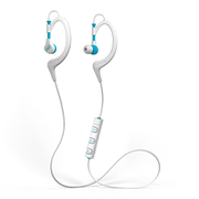 Mixx Secure Fit 1 Bluetooth Sports Earphones Including Mic & In-Line Remote - White