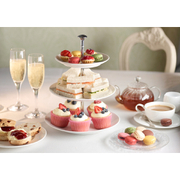 Champagne Cocktail Afternoon Tea for Two at Hilton London Canary Wharf