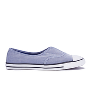 Converse Women's Chuck Taylor All Star Cove Chambray Pumps - Roadtrip Blue/Black/White