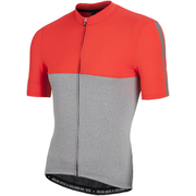 Nalini Mantova Short Sleeve Jersey - Red/Grey
